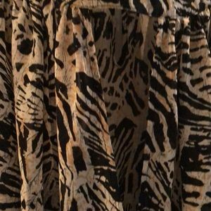 Parker Tops - Parker animal print blouse - new without tags